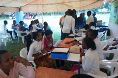 Nutrition and Dietetics Students participate in Kimathi Healthweek