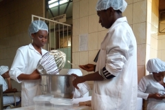 Students at Food Workshop
