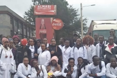 Academic trip to Almasi - Mt. Kenya Cocacola bottlers