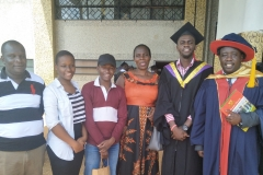 IFBT Director and MSc Graduate