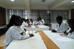 IFBT Student during Practicals